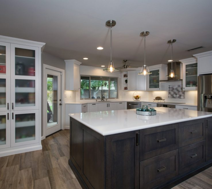 Kitchen Renovation Before And After Of Phoenix Remodeling Contractor Pictures