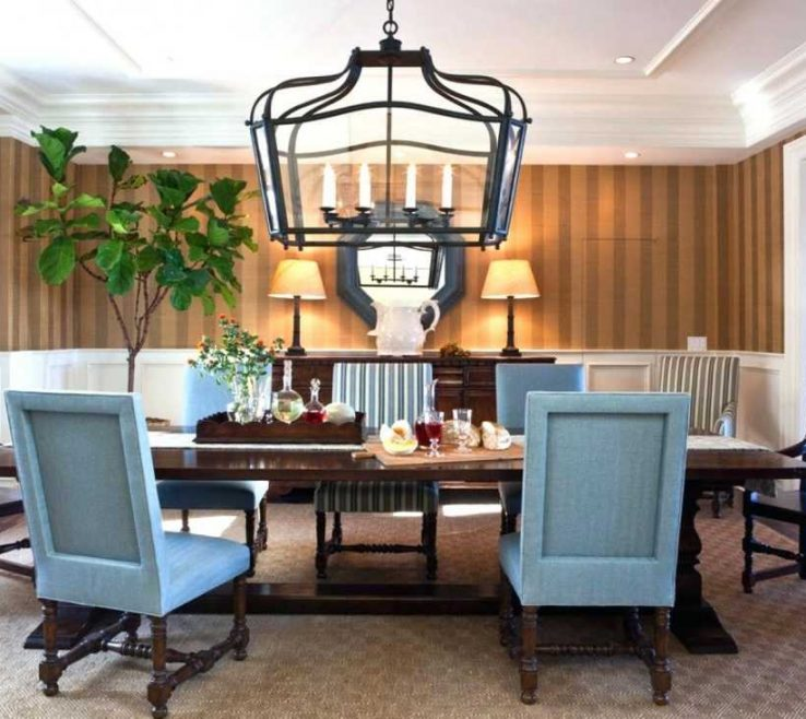 Lantern Chandelier Dining Room Collection And Beautiful Lighting Ideas
