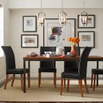 Lighting Over Dining Room Table Of A Large Table Featured Gather Three Light