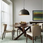 Lighting Over Dining Room Table Of Excellent Hanging Light 5 Plug In Swag