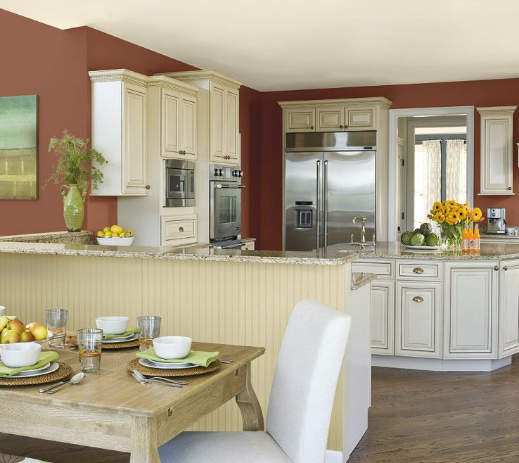Likeable Benjamin Moore Kitchen Colors Of Paint Colours Cozy Popular Trends Light Green