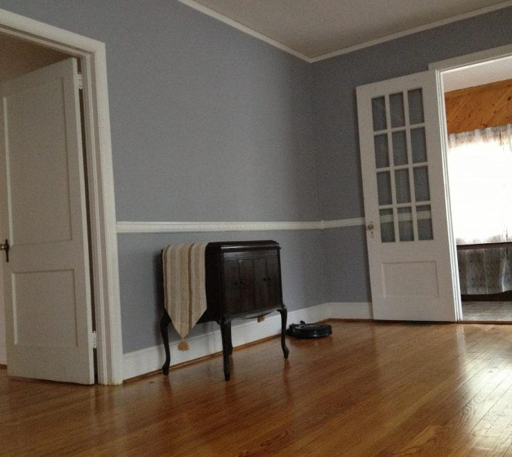 Likeable Gray Paint Living Room Of Light #1 Timber Wolf Behr Color