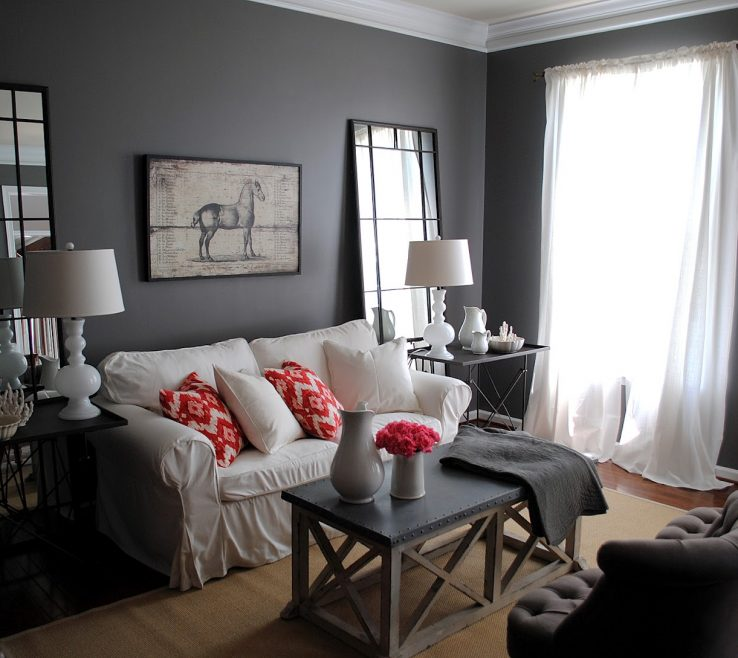 Likeable Grey Living Room Decor Of Grey Living Room