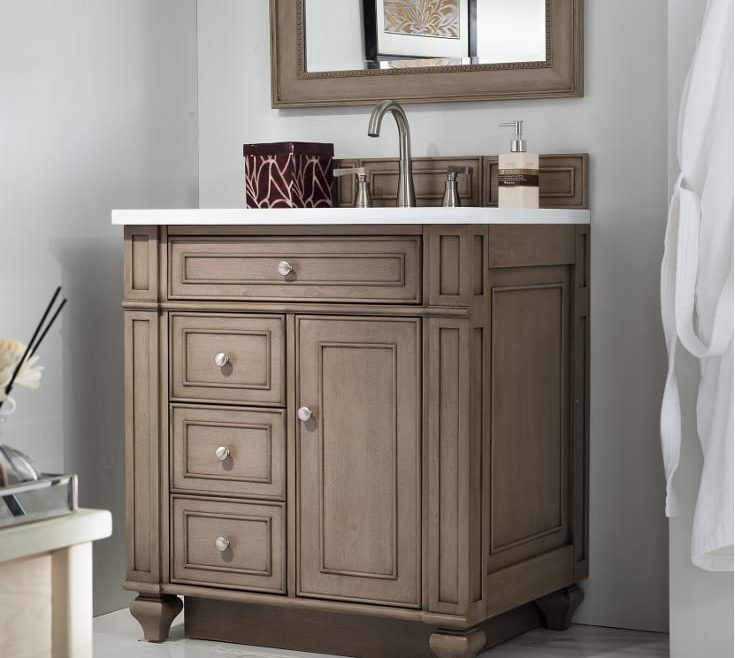 Likeable His And Her Bathroom Vanities Of Making The Most Of A Small Vanity