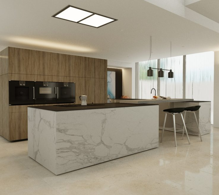 Likeable Modern Contemporary Kitchen