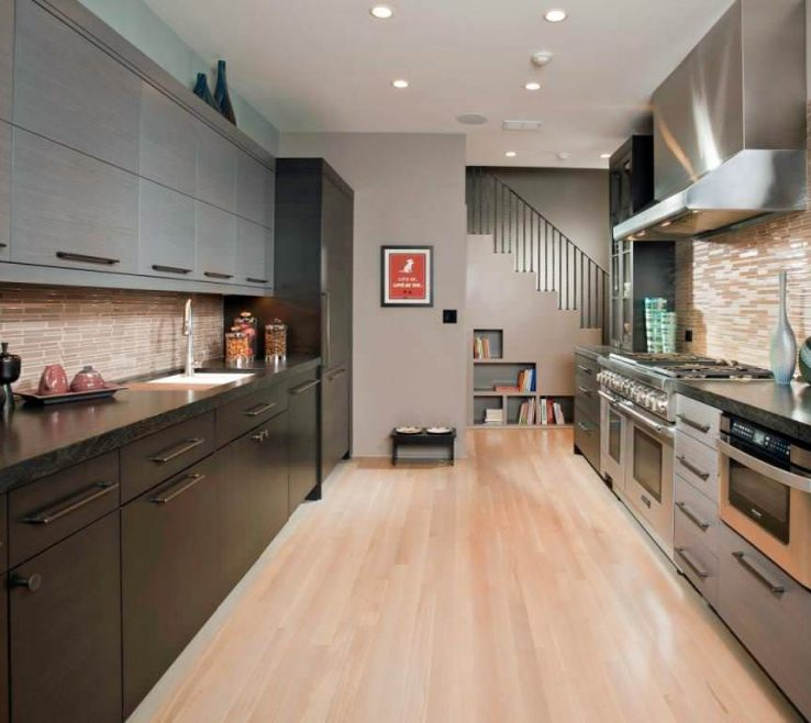 Likeable Small Galley Kitchen Of Idea Styles