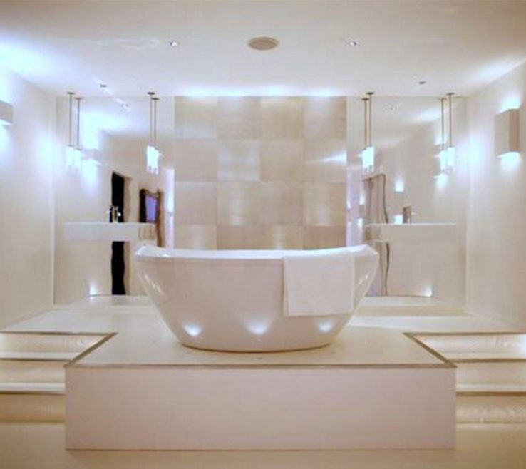 Lovely Bathroom Chandeliers Ideas Of Interior
