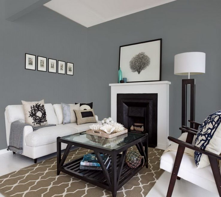 Lovely Best Gray Paint Colors For Bedroom Of White And Small Space Living Room