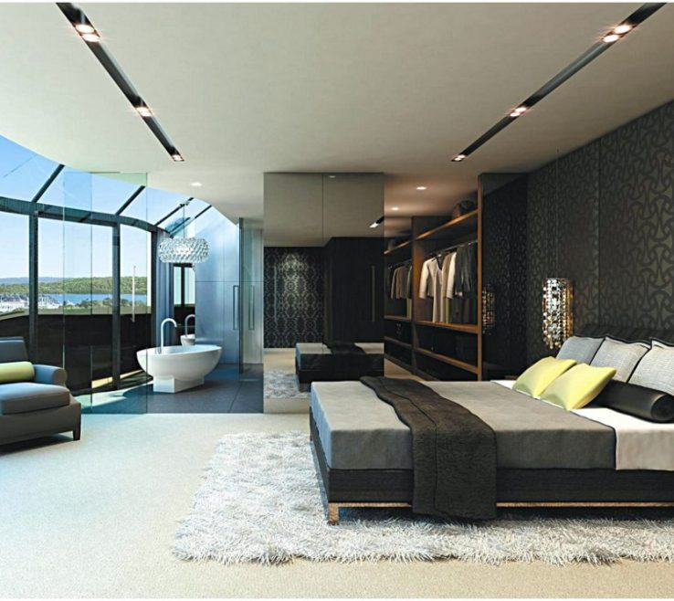 Lovely Big Bedroom Ideas Of Stylish Bedrooms Within Modern Home Design Throughout