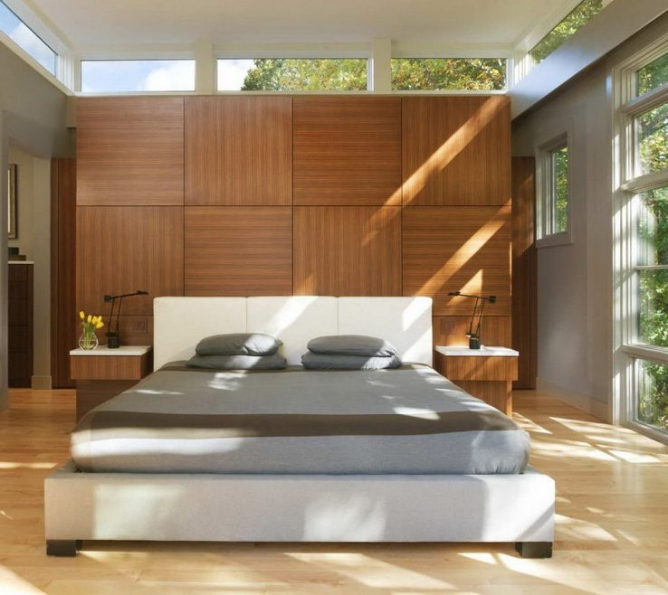 Lovely Contemporary Master Bedroom Of Stylish Design Ideas Photo