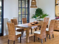 Dining Table With Different Chairs