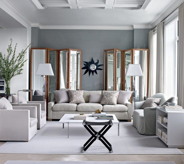 Lovely Grey Colour Schemes For Living Rooms
