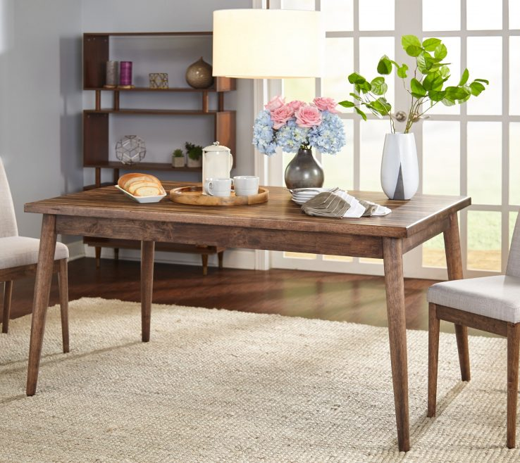 Lovely Mid Century Dining Room Of Shop Simple Living Element Mid Century Table