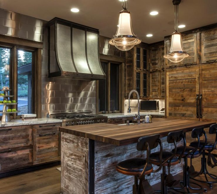 Lovely Rustic Style Kitchen Of Best 30 Kitchens 2018