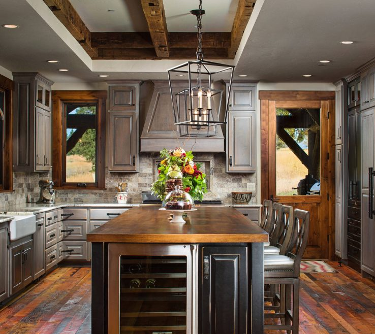 Lovely Rustic Style Kitchen Of E Decor
