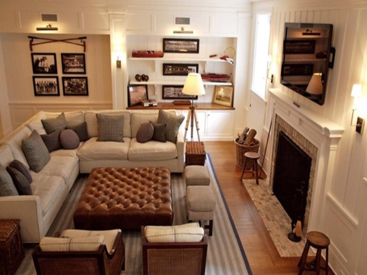 Lovely Small Living Room Furniture Arrangement Of Family ...