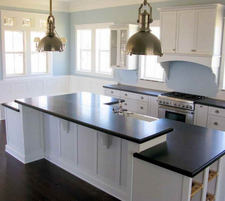 Lovely White Kitchen Black S Of Superbealing S