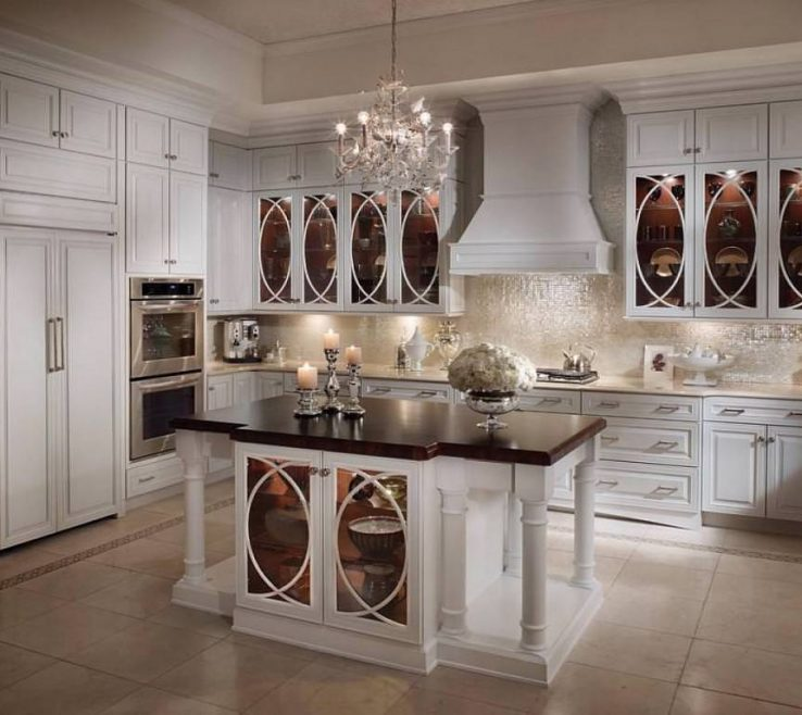 Luxury White Kitchen Of Antique S