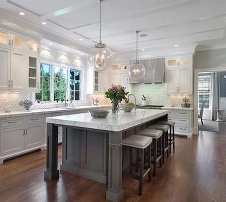 Luxury White Kitchen Of Awesome Stunning Design Ideas More