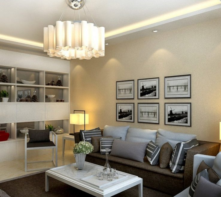 Magnificent Best Lighting For Living Room Of Enjoy With Led