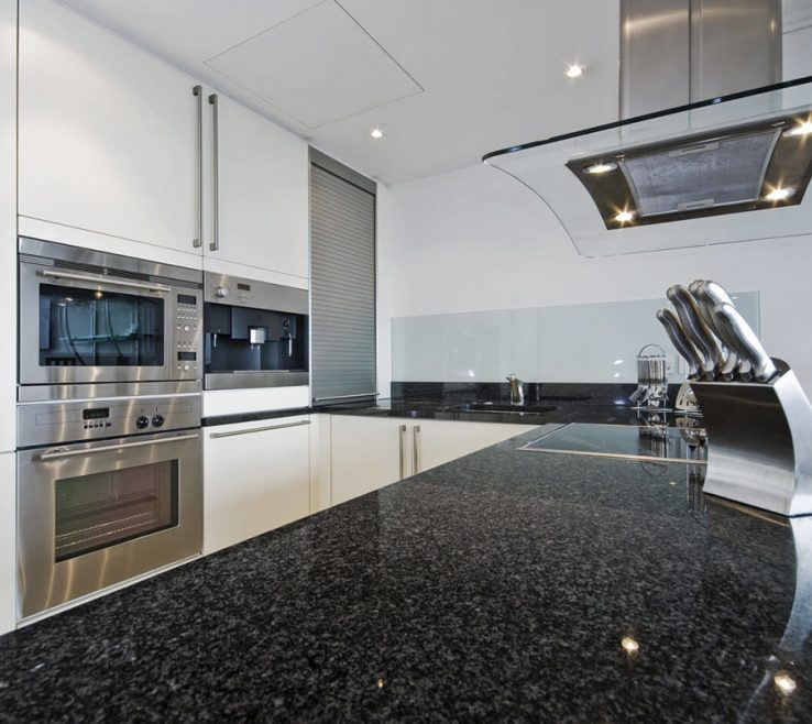 Magnificent Black Granite Kitchen S Of Impala Black Granite Kitchen