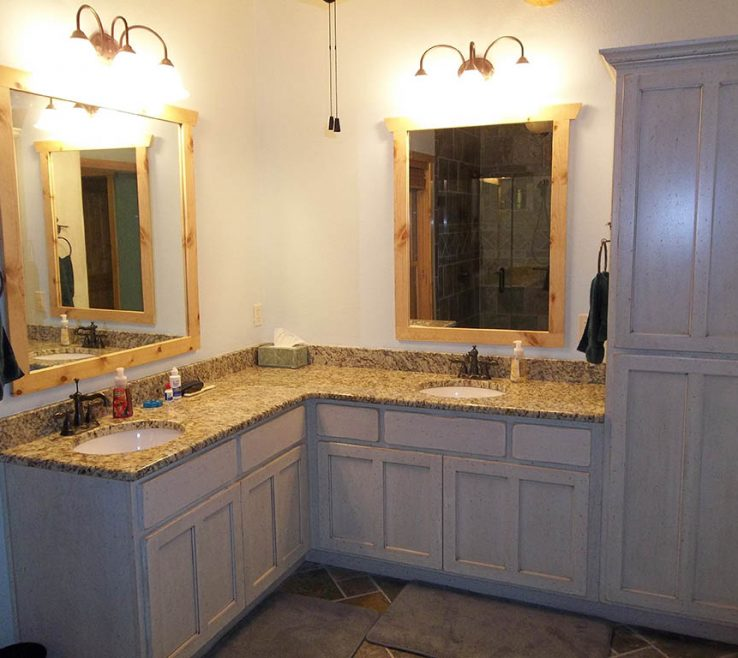 Magnificent His And Her Bathroom Vanities