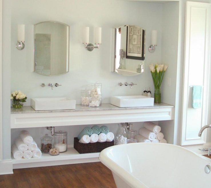 Magnificent His And Her Bathroom Vanities Of Vanity Organizer