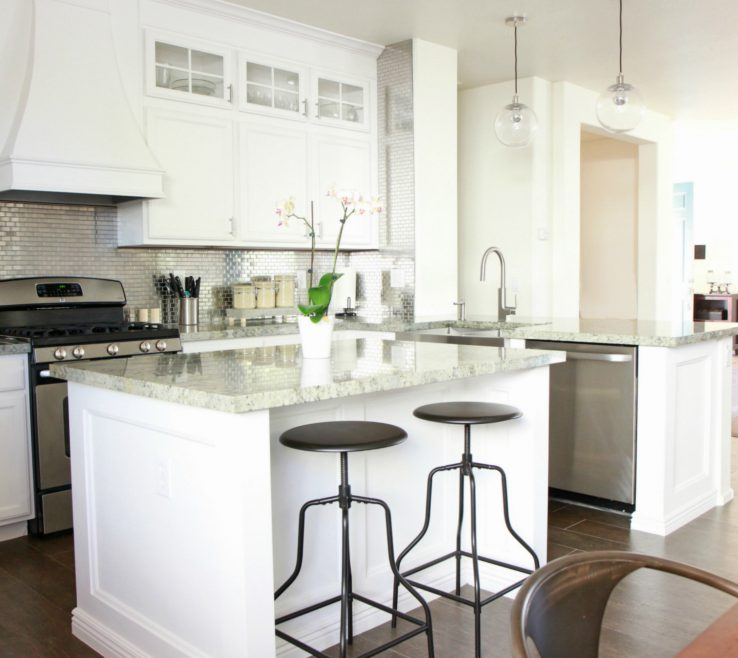Magnificent Kitchen Remodels With White S Of Delight