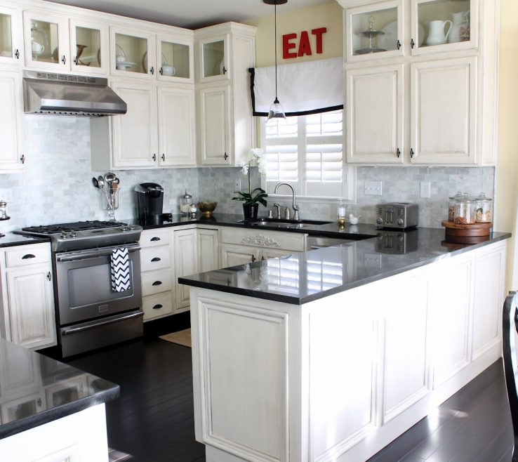 Magnificent White Kitchen S With Black S Of Stunning And Chairs