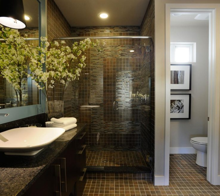 Master Bathroom Showers Of Space Planning