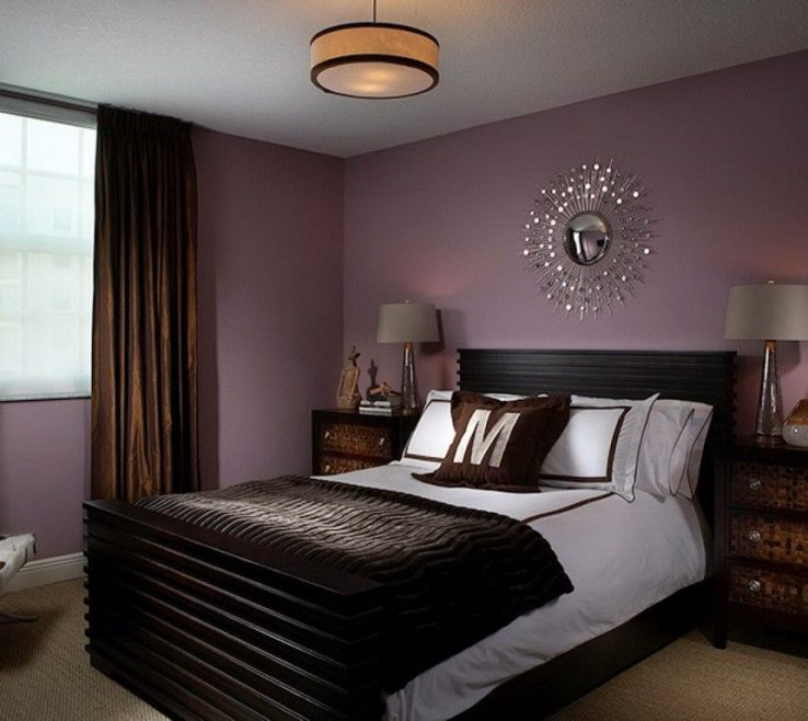 Master Bedroom Paint Of Colors With Purple Interior Design Ideas