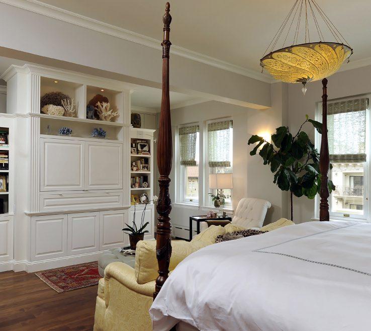 Master Bedroom Suite Of Washington Dc Condo Renovation