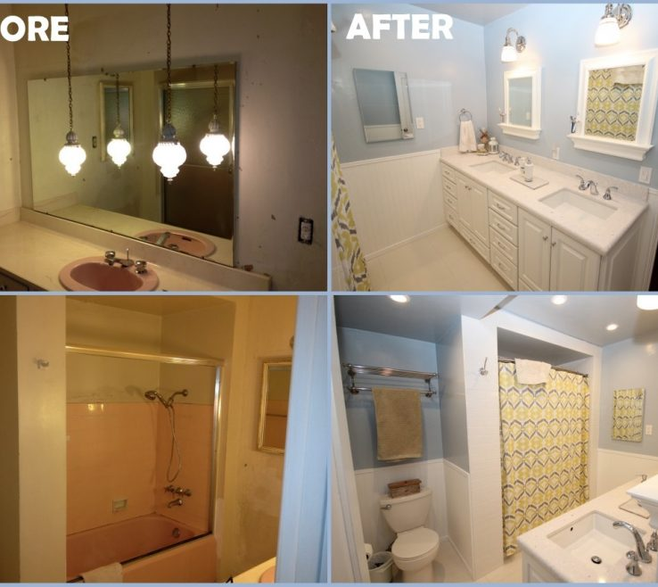 Mesmerizing Bathroom Remodeling Ideas Before And After Of Small Remodels Color