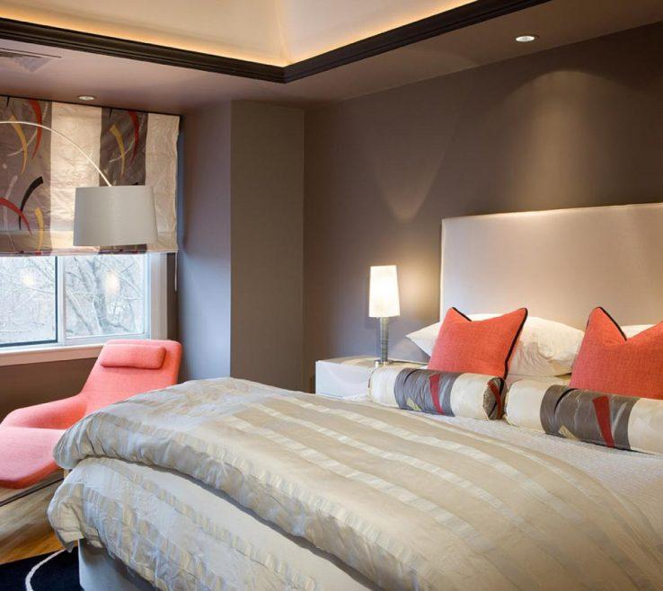 Mesmerizing Bedroom Paint Design Of Modern Colors