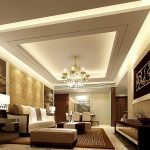 Mesmerizing Best Living Room Of Gypsum Ceiling Design For Lighting Home Decorate