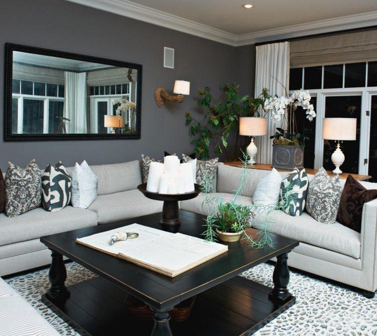 Mesmerizing Grey Living Room Decor Of Home