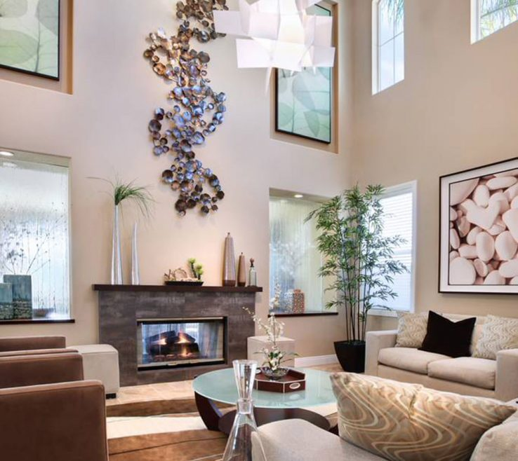 Mesmerizing High Ceiling Living Room Of Decorating A Room With High Ceiling12 Rooms And Decorating