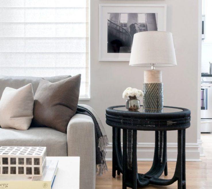 Mesmerizing Monochromatic Living Room Of Paula E Guzman Interiors / Modern Design