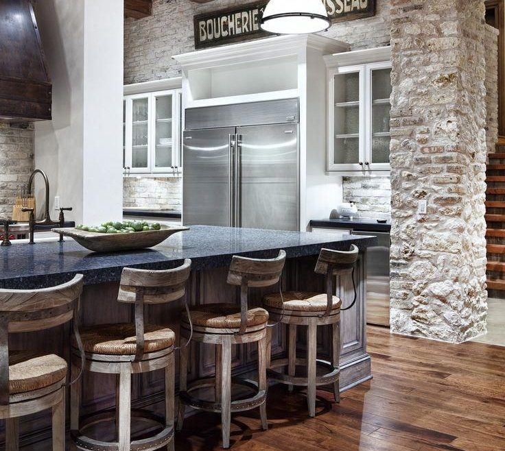 Mesmerizing Rustic Contemporary Kitchen Of Modern Kitchen. I Love So Much About