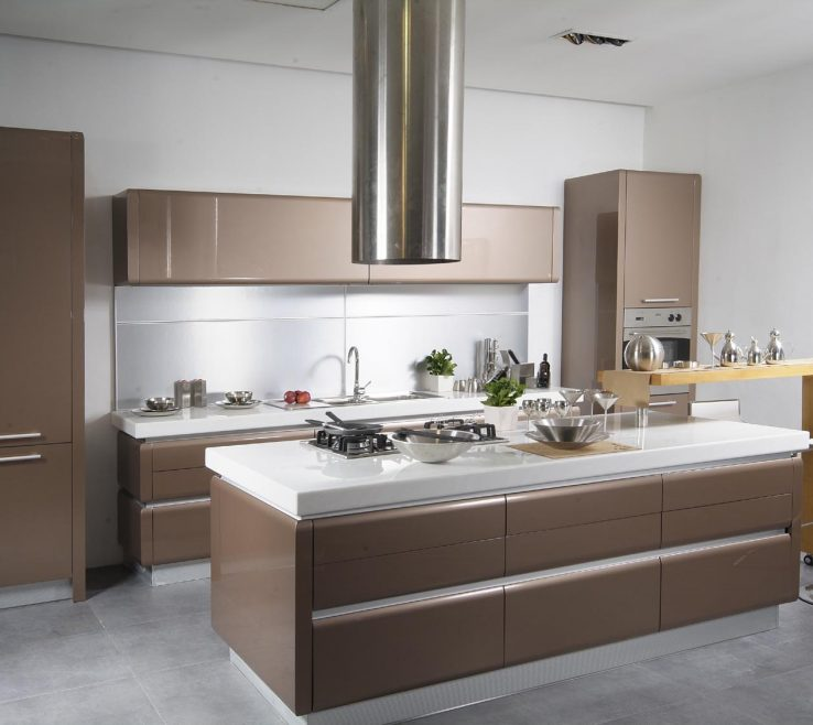 Modern Kitchen Of Small Design