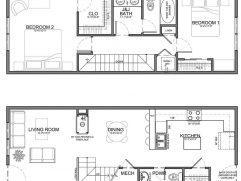 Narrow Living Room Layout