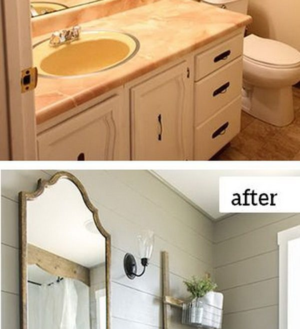 Picturesque Bathroom Remodeling Ideas Before And After Of Incredible Cottage E Makeover