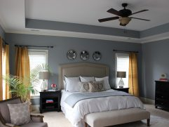 Grey Master Bedroom