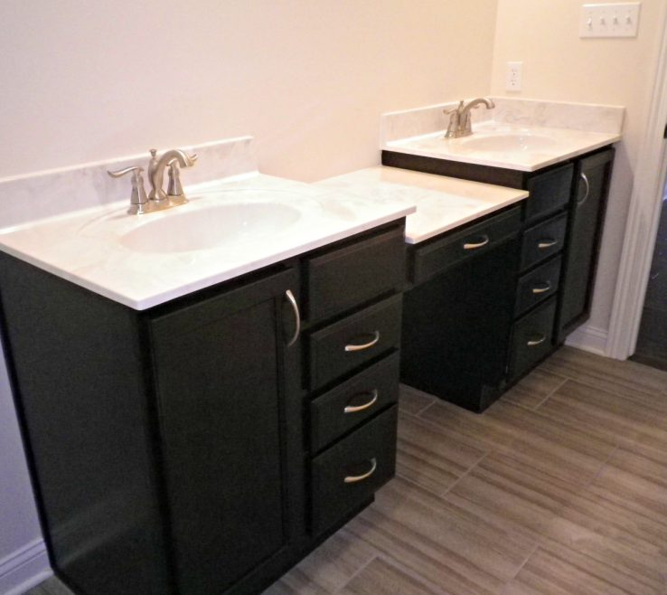 Picturesque His And Hers Bathroom Sinks Of In Master