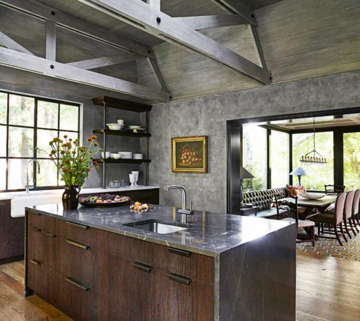 Picturesque Modern Rustic Kitchen Designs Of Kitchens