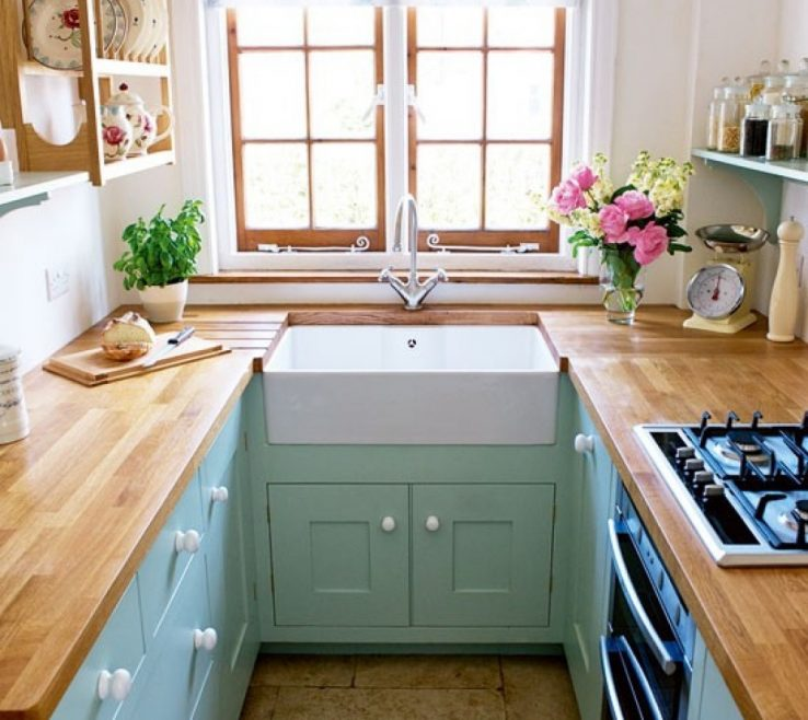 Picturesque Small Galley Kitchen Of Custom Ideas