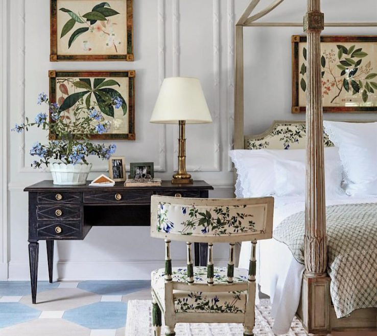 Remarkable Architectural Digest Bedrooms Of Tory Burch Bedroom Hamptons Home Designed By