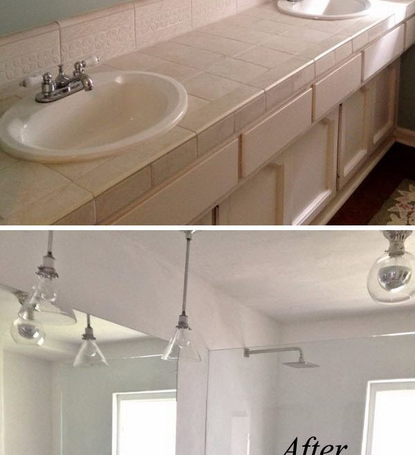 Remarkable Bathroom Makeovers Before And After Of 37 Small