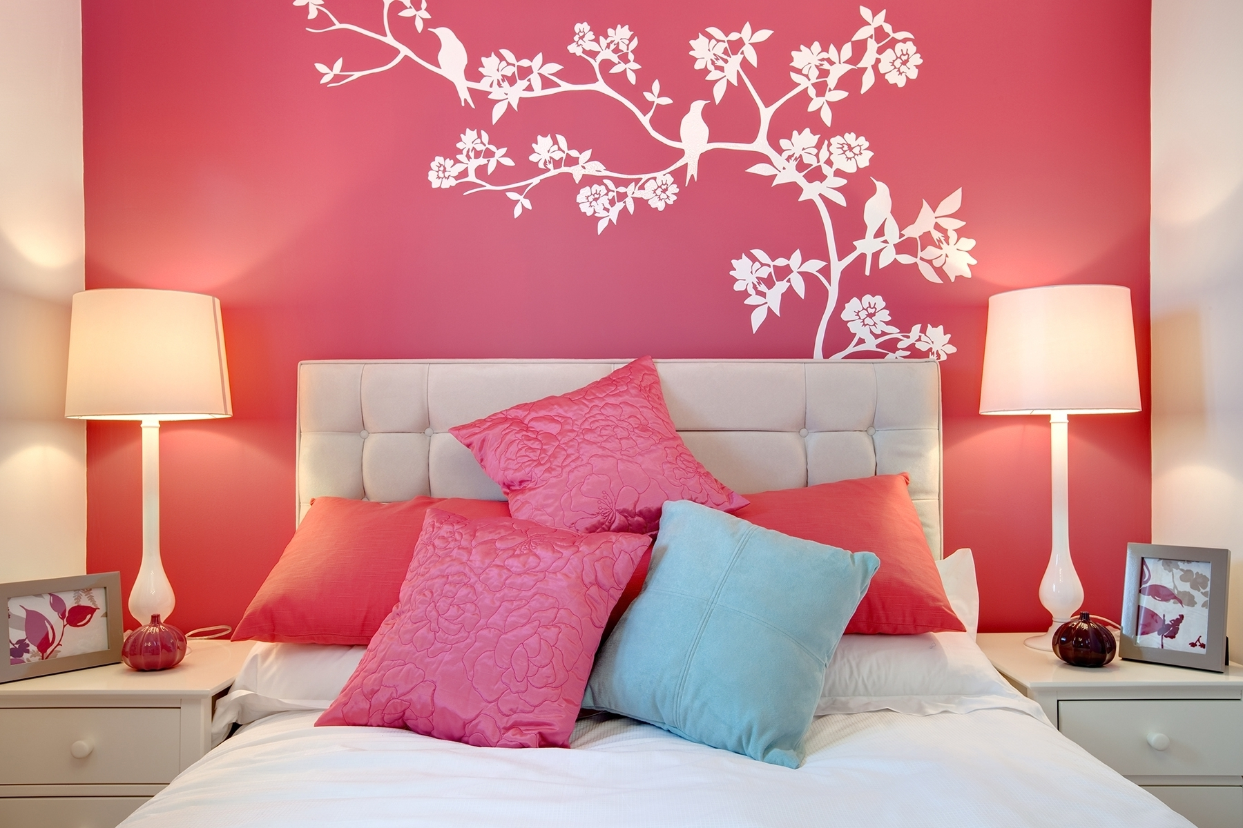 Remarkable Girls Bedroom Wall Decor Of Bedroom, Paint Designs Painting Ideas  Stunning