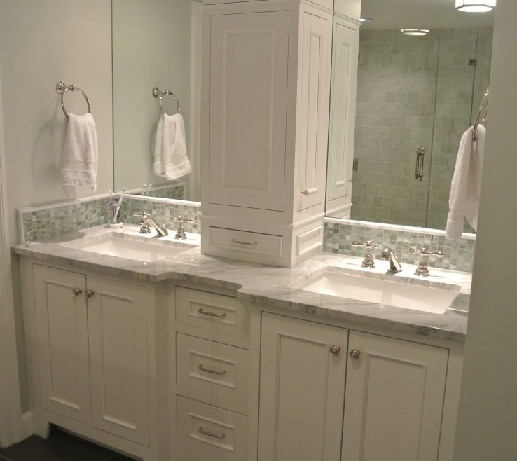 Remarkable His And Her Bathroom Vanities Of Not This One But This Arrangement Double